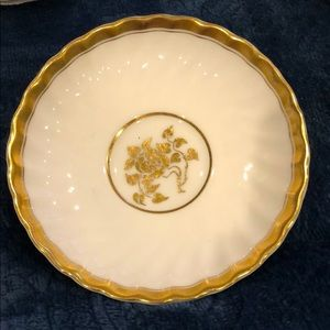 "Minton Gold Rose 4 1/2"" coasters.  Set of 14"